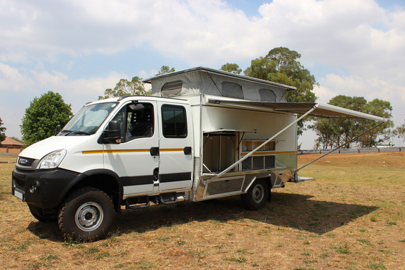 Iveco 4x4 Daily Double Cab